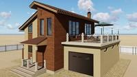 3d 3ds house