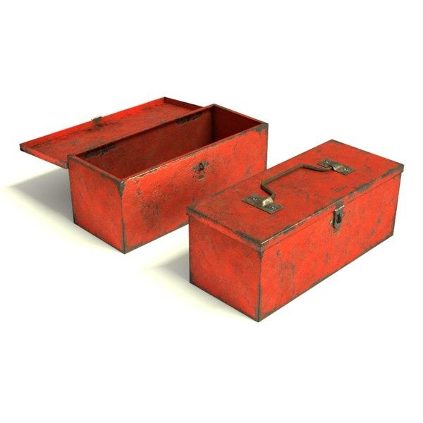 tool toolbox 3d obj