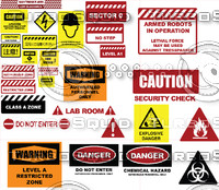 Industrial Warning Signs