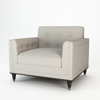 Baker Wren Tufted Chair