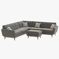 Joybird Hughes Corner sectional Sofa