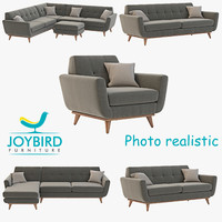 3d model joybird hughes