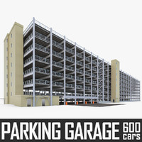 Multistory Parking Garage 01