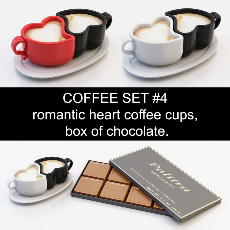 max coffee cups box chocolate
