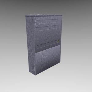 3d model power cabinet