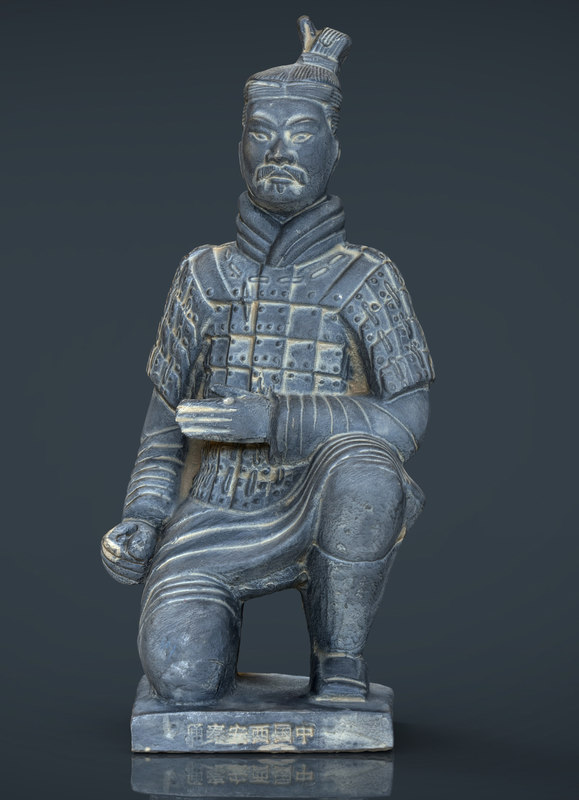 3d model terracota soldier