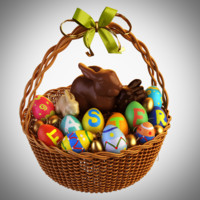 easter eggs basket max