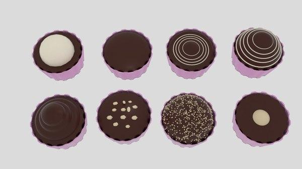 chocolatier cup 3d model