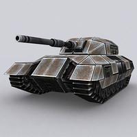 3DRT - Sci-Fi Tank T-04