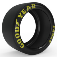 goodyear eagle race slick obj
