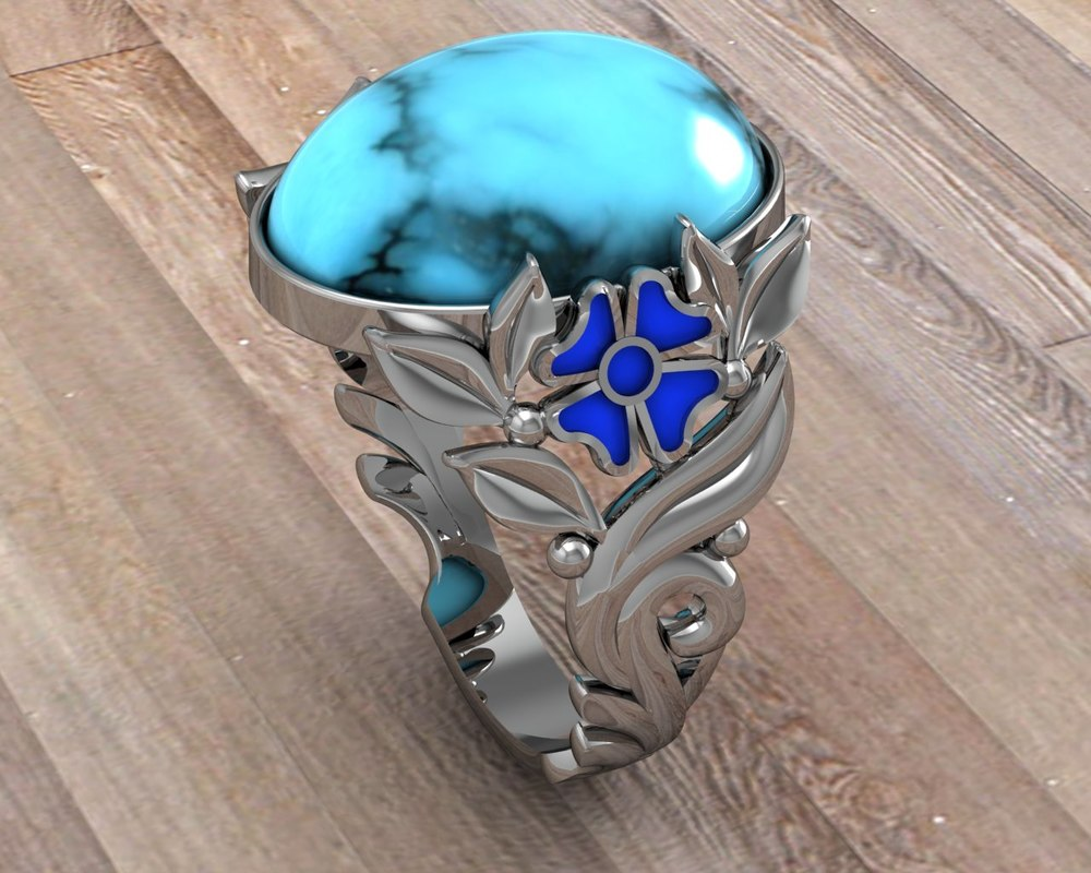 jewelry ring 3d 3ds