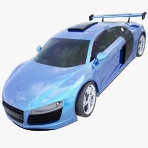 3d model car r8