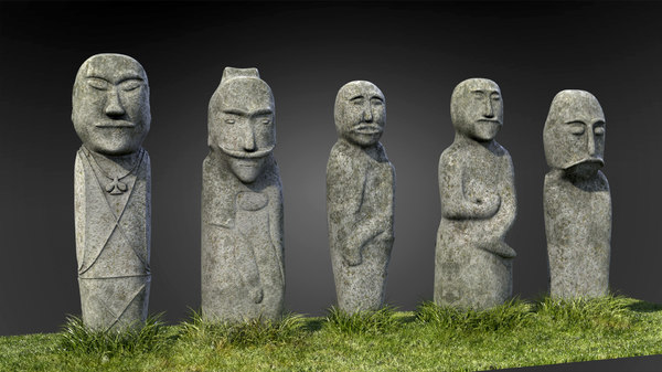 stone monuments ulitau mountains 3ds