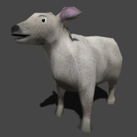 sheep ready 3d model