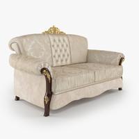3d couch barnini oseo model