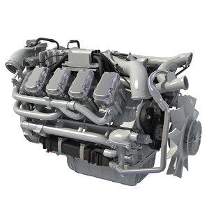 euro 6 diesel engine max