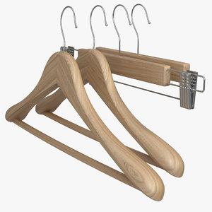 free hanger pants 3d model