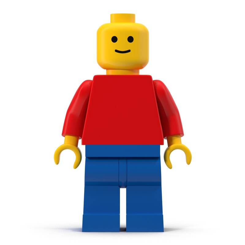lego man vector - photo #7