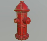 free hydrant 3d model