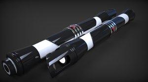 3d starkiller lightsabers model