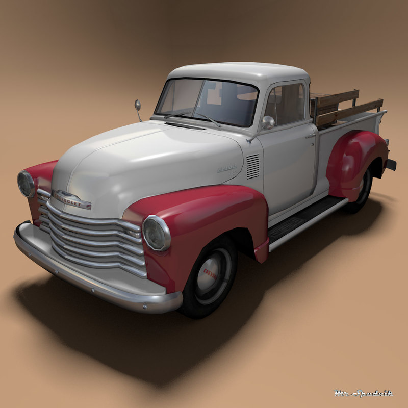 chevrolet 3100 pickup 3d 3ds