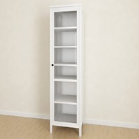 Hemnes Glass-door cabinet