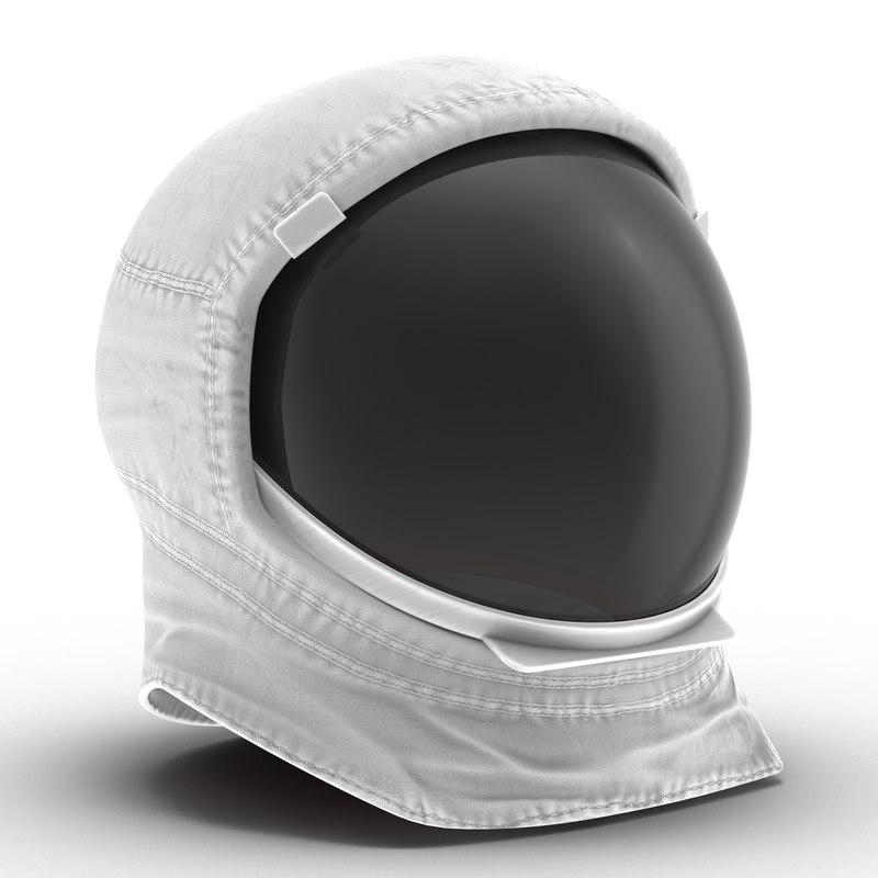 3d model a7l spacesuit helmet
