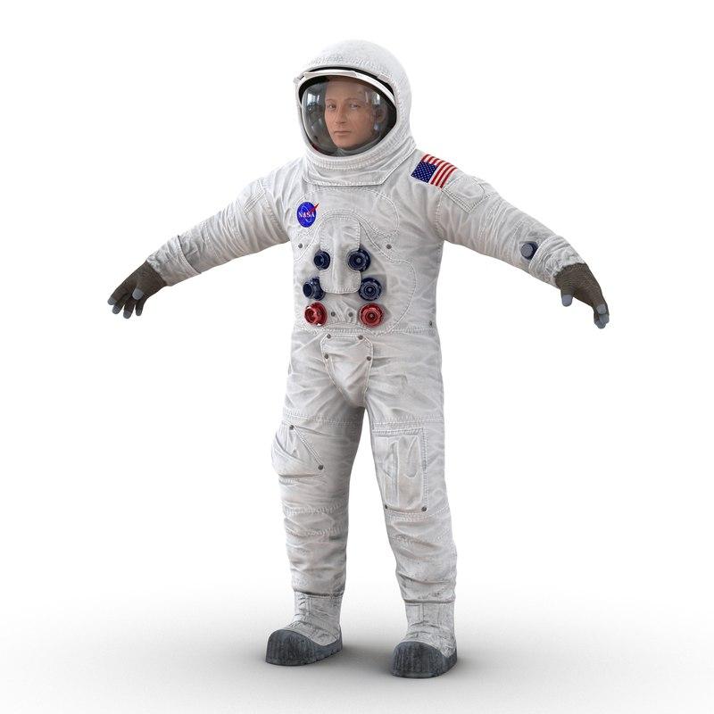astronaut nasa wearing spacesuit max