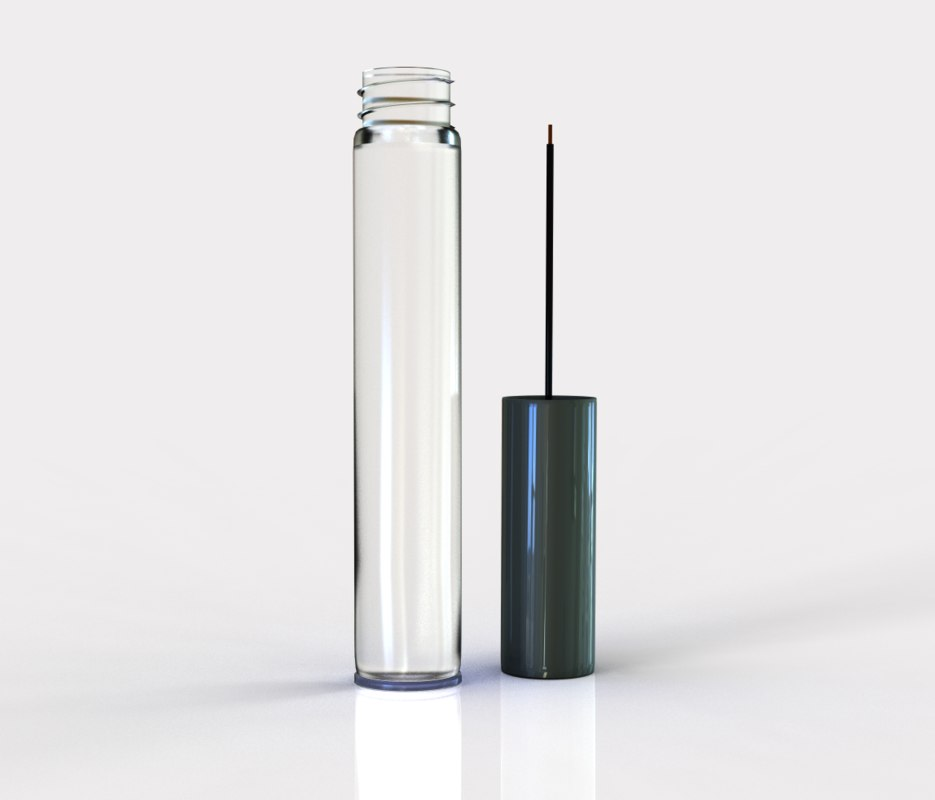 mascara bottle cap 3d model