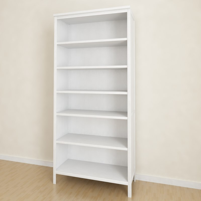 3d ikea hemnes bookcase