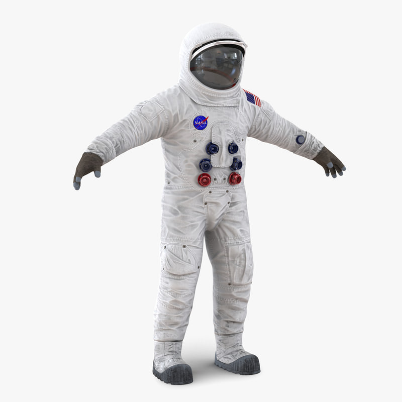 a7l apollo skylab spacesuit 3d max