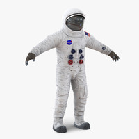 a7l apollo skylab spacesuit 3d max