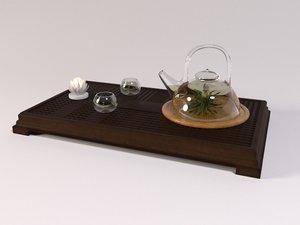 glass pot tea cups max