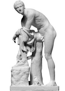 free obj mode scan statue hermes
