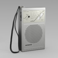 Siemens Pocket Radio RT 711