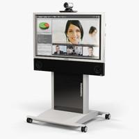 3d model tandberg profile 3000 mxp