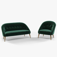 Brabbu Malay armchair and sofa