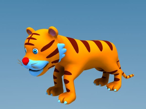 cartoon tiger max