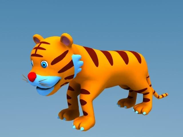 cartoon tiger max