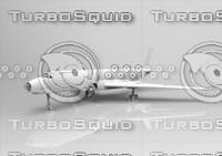 tupolev tu-104 3d model