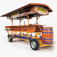 3d pedal pub
