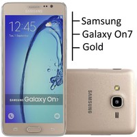 Samsung Galaxy On7 Gold