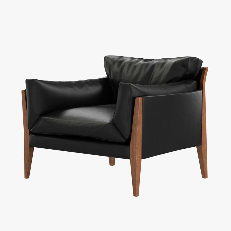 3d chair diana ritzwell leather