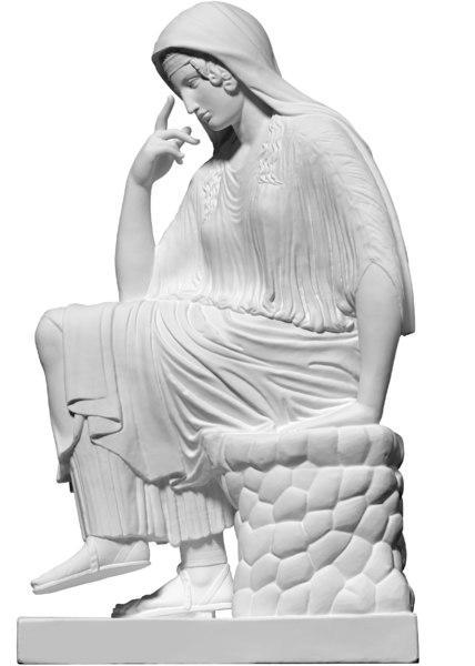 scan statue penelope obj free
