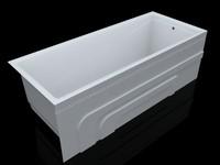acrylic bath obj