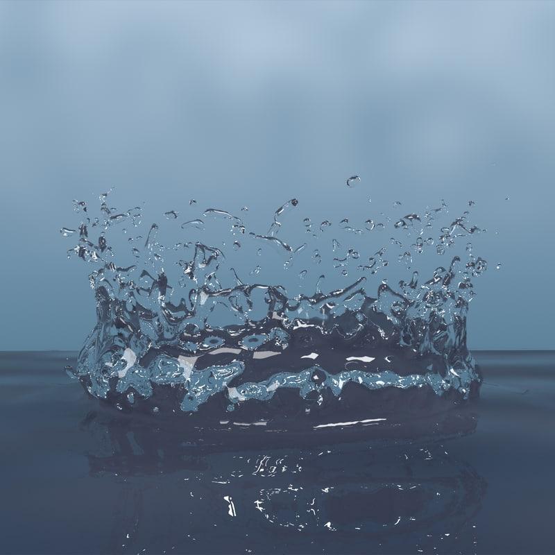 3d model droplet shader