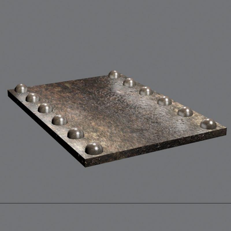 3d plate metal