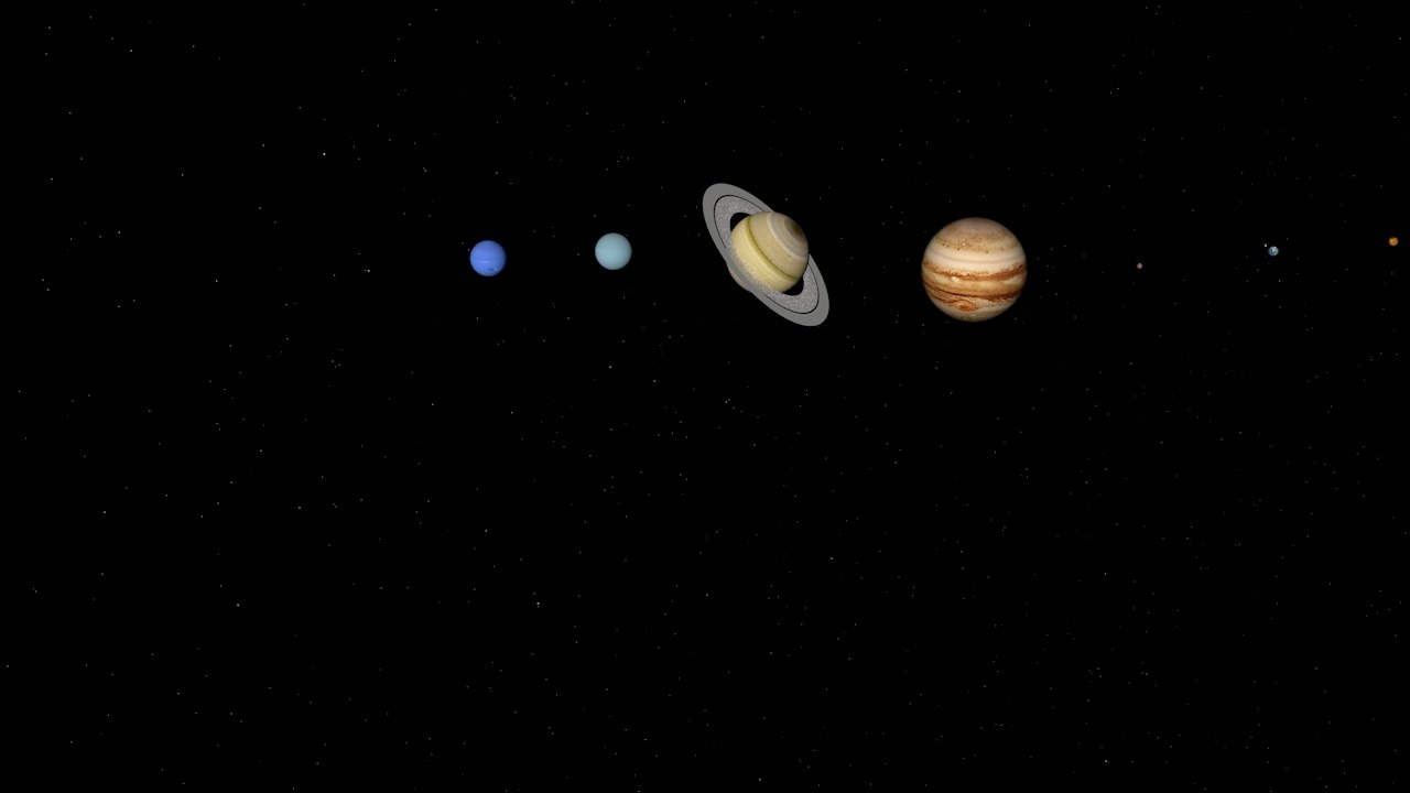 solar polygons planets 3d model