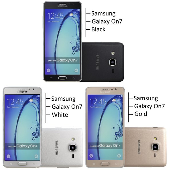 samsung galaxy on7 3d dxf