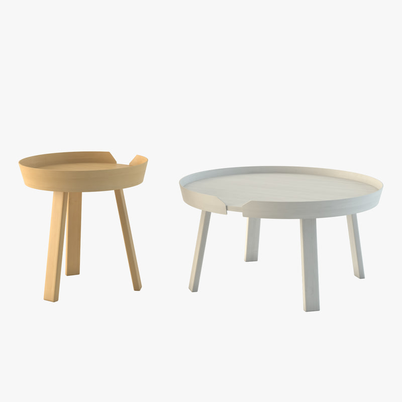 3d model of muuto table for Table 3d model
